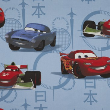 Cars Disney Fabric MCMISSLE.38.140