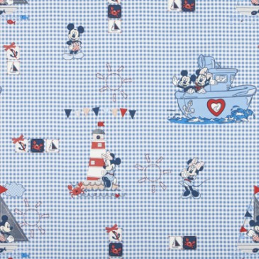 Disney Mickey Mouse Minnie Mouse Fabric SKIPPER.40.140