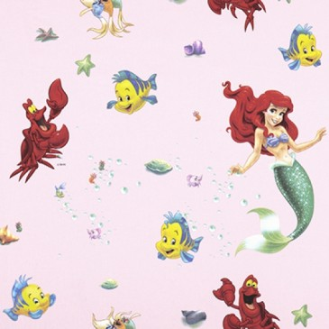 Disney The Little Mermaid Fabric SIRENA.33.140