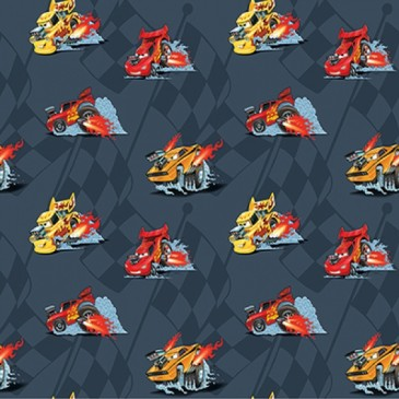Cars Disney Fabric VROOM.57.140